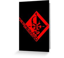 Desperado Enforcement, LLC Greeting Card