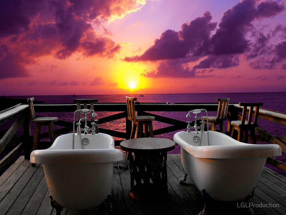 Relaxing In Cozumel by LGLProduction