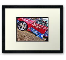 Blue Heeler Framed Print
