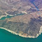 Hoover Dam, from the Air by Karina  Cooper
