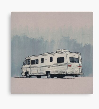 California RV Canvas Print