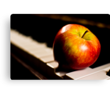 Music Is Fruitful Canvas Print
