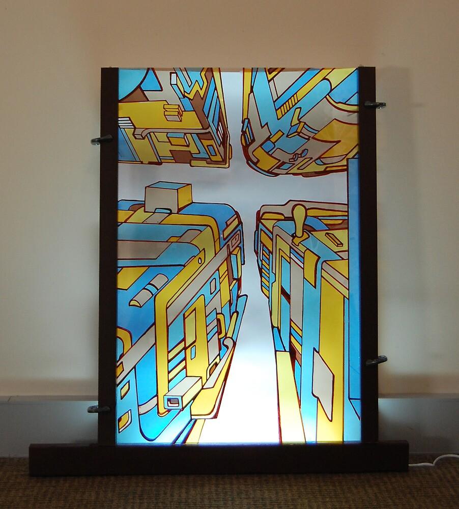light instillation illustration by Andrew Hennig