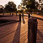 Lake Sunset by Michael Cadelina