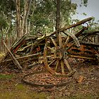 Reminder of days gone by ... Hill End ~ Australia by Rosalie Dale