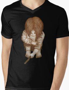 Alone - Sepia Mens V-Neck T-Shirt