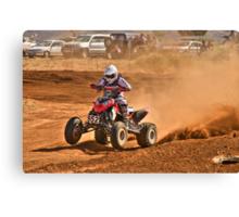 Four Wheeler - Tattersalls Finke Desert Race 2011 Canvas Print
