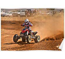 Four Wheeler - Tattersalls Finke Desert Race 2011 Poster