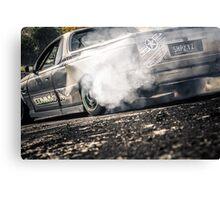 SHRKYZ Motorfest Burnout Canvas Print