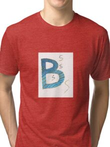Colorful beautiful shapes for good mood Tri-blend T-Shirt