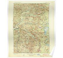 USGS Topo Map Oregon Waldo Lake 283278 1925 125000 Poster