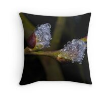 Jewels & Fur Throw Pillow