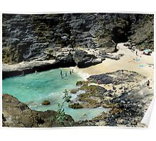 From Here to Eternity Beach Honolulu Poster