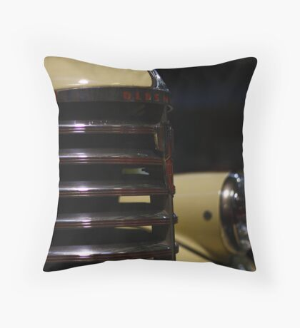 Old Chrome Throw Pillow
