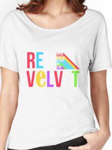RED VELVET Typography Women's Relaxed Fit T-Shirt