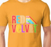 RED VELVET Typography Unisex T-Shirt