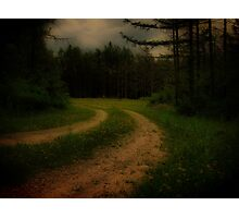 Winding Road Photographic Print