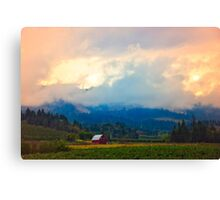 Hood River - Season Of Beauty Canvas Print