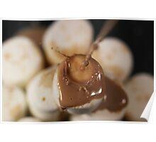 Chocolate Milk Raining On Marshmallows Poster