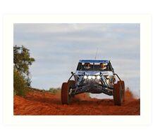 Auricht - Finke Desert Race 2011 Day 1 Art Print