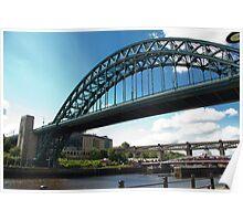 Newcastle bridges Poster
