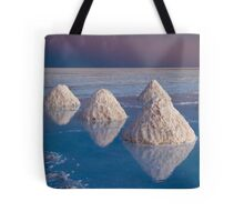Salt mounds Tote Bag
