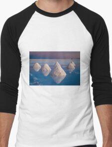 Salt mounds Men's Baseball ¾ T-Shirt