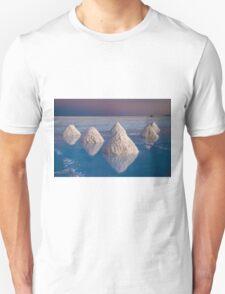 Salt mounds Unisex T-Shirt