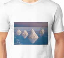 Salt mounds Unisex T-Shirt