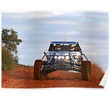 Team Auricht - Finke 2011 Day 1 Poster