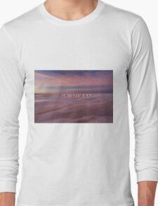 Sunrise over the salt Long Sleeve T-Shirt