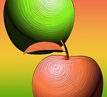 How do you like Dem Apples3/ Fruit Shop by Jane Holloway