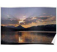 Arctic sunset-II Poster