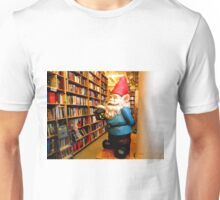 Library Gnome Unisex T-Shirt