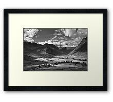 Oxendale & Mickleden 01 - The Lake District, England Framed Print