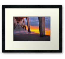 Venice Pier, As Is Framed Print