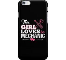 This Girl Loves Her Mechanic iPhone Case/Skin