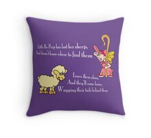 Little Bo-Peep Throw Pillow