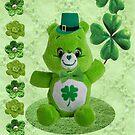 Green Bear by Ann12art