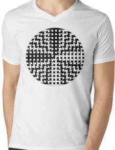 Cross Eyes Mens V-Neck T-Shirt