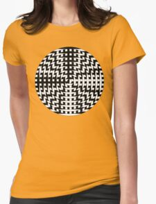 Cross Eyes Womens Fitted T-Shirt