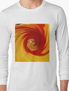 Fire twirl Long Sleeve T-Shirt