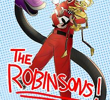 Meet The Robinsons (of the Satellite of Love) by toenailsouffle