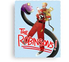 Meet The Robinsons (of the Satellite of Love) Canvas Print