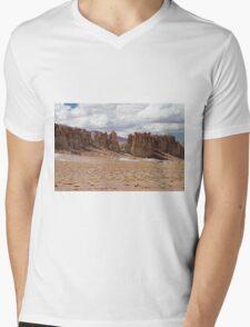 Tara Salt Flat II Mens V-Neck T-Shirt