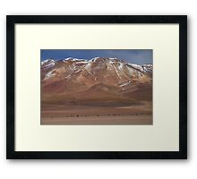 Bolivian landscape Framed Print
