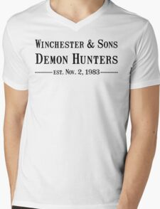 Winchester and Sons est. 1983 Mens V-Neck T-Shirt