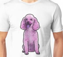Poodle in Amethyst Mosaic Unisex T-Shirt