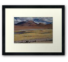 Atacama Landscape II Framed Print