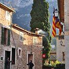 Deia, Majorca, street scene by Nick  Gill